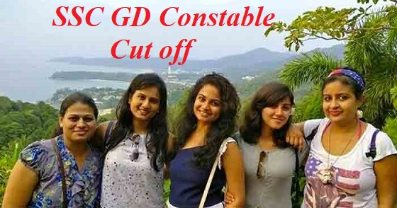 SSC GD Constable Expected Cut off Marks 2021