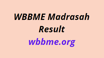 WBBME Result 2021