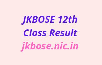 jkbose.ac.in 12th Class Result 2021