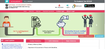 nsp national scholarships portal