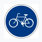 Cycle Track Sign