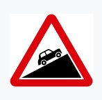 Steep Ascent Sign