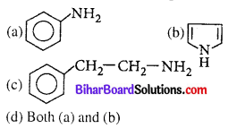 Bihar Board 12th Chemistry Objective Answers Chapter 13 Amines 1