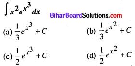 Bihar Board 12th Maths Model Question Paper 3 in Hindi MCQ Q30