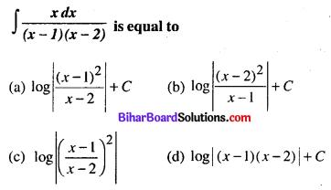 Bihar Board 12th Maths Model Question Paper 5 in English Medium MCQ Q26