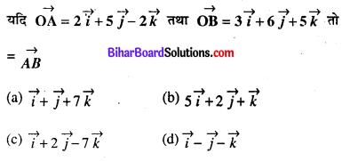 Bihar Board 12th Maths Objective Answers Chapter 10 सदिश बीजगणित Q40