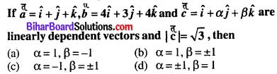 Bihar Board 12th Maths Objective Answers Chapter 10 Vector Algebra Q8