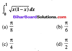 Bihar Board 12th Maths Objective Answers Chapter 7 समाकलन Q78