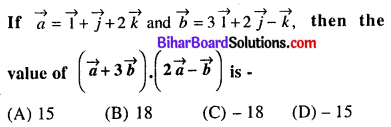 Bihar Board 12th Maths VVI Objective Questions Model Set 3 in English Q45