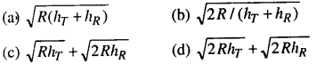 Bihar Board 12th Physics Objective Answers Chapter 15 Communication Systems in english medium 1
