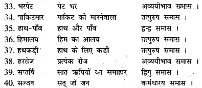 Bihar Board Class 7 Hindi व्याकरण Grammar 23