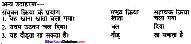 Bihar Board Class 10 Hindi व्याकरण क्रिया-भेद - 5