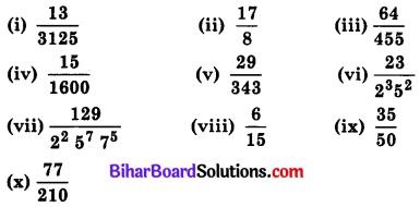Bihar Board Class 10 Maths Solutions Chapter 1 वास्तविक संख्याएँ Ex 1.4 Q1.4