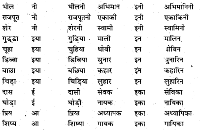 Bihar Board Class 6 Hindi व्याकरण Grammar 8
