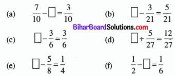 Bihar Board Class 6 Maths Solutions Chapter 7 भिन्न Ex 7.5 Q3