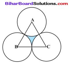 Bihar Board Class 10 Maths Solutions Chapter 12 वृतों से संबंधित क्षेत्रफल Ex 12.3 Q10