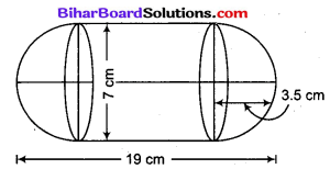Bihar Board Class 10 Maths Solutions Chapter 13 पृष्ठीय क्षेत्रफल एवं आयतन Additional Questions LAQ 3
