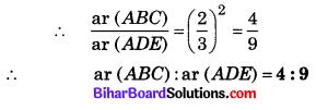 Bihar Board Class 10 Maths Solutions Chapter 6 त्रिभुज Additional Questions VSQ 1.1