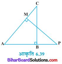 Bihar Board Class 10 Maths Solutions Chapter 6 त्रिभुज Ex 6.3 Q9