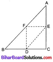 Bihar Board Class 10 Maths Solutions Chapter 6 त्रिभुज Ex 6.4 Q5
