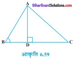 Bihar Board Class 10 Maths Solutions Chapter 6 त्रिभुज Ex 6.6 Q4