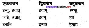 Bihar Board Class 6 Sanskrit व्याकरण धातु-रूपाणि 22