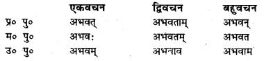 Bihar Board Class 7 Sanskrit व्याकरण धातु-रूपाणि 9
