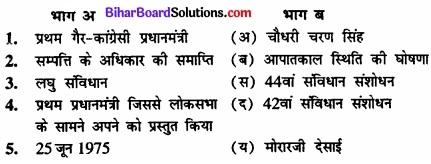 Bihar Board Class 12 Political Science Solutions chapter 6 कांग्रेसी प्रणाली चुनौतियाँ और पुनर्स्थापना Part - 2 img 2