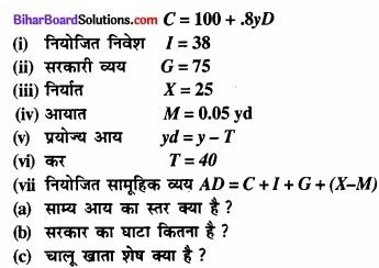 Bihar Board Class 12th Economics Solutions Chapter 6 खुली अर्थव्यवस्था समष्टि अर्थशास्त्र part - 1 img 10