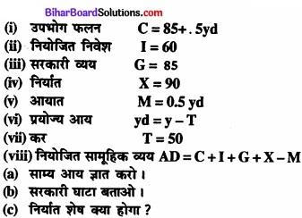 Bihar Board Class 12th Economics Solutions Chapter 6 खुली अर्थव्यवस्था समष्टि अर्थशास्त्र part - 1 img 11