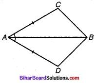 Bihar Board Class 9 Maths Solutions Chapter 7 त्रिभुज Ex Q 7.1 1