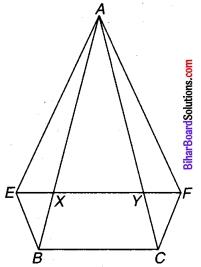 Bihar Board Class 9 Maths Solutions Chapter 9 समान्तर चतुर्भुज और त्रिभुजों के क्षेत्रफल Ex 9.3 Q 8