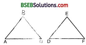 Bihar Board Class 10th Maths Solutions Chapter 6 Triangles Ex 6.4 6