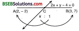Bihar Board Class 10th Maths Solutions Chapter 7 Coordinate Geometry Ex 7.4 1