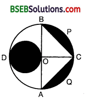 Bihar Board Class 10th Maths Solutions 12 Areas Related to Circles Ex 12.3 16