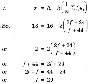 Bihar Board Class 10th Maths Solutions Chapter 14 Statistics Ex 14.1 7