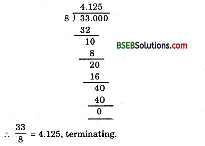Bihar Board Class 9th Maths Solutions Chapter Bihar Board Class 9th Maths Solutions Chapter 1 Number Systems Ex 1.3 2