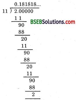 Bihar Board Class 9th Maths Solutions Chapter Bihar Board Class 9th Maths Solutions Chapter 1 Number Systems Ex 1.3 4