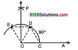 Bihar Board Class 9th Maths Solutions Chapter 11 Constructions Ex 11.1 1