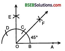 Bihar Board Class 9th Maths Solutions Chapter 11 Constructions Ex 11.1 2