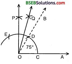 Bihar Board Class 9th Maths Solutions Chapter 11 Constructions Ex 11.1 6