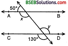 Bihar Board Class 9th Maths Solutions Chapter 6 Lines and Angles Ex 6.2 1