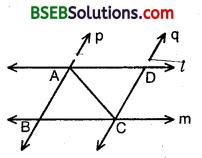 Bihar Board Class 9th Maths Solutions Chapter 7 Triangles Ex 7.1 4