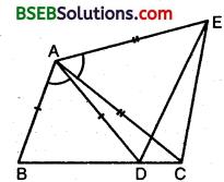 Bihar Board Class 9th Maths Solutions Chapter 7 Triangles Ex 7.1 6