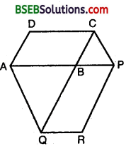 Bihar Board Class 9th Maths Solutions Chapter 9 Areas of Parallelograms and Triangles Ex 9.3 9
