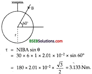 Bihar Board Class 12th Physics Solutions Chapter 4 Moving Charges and Magnetism - 8