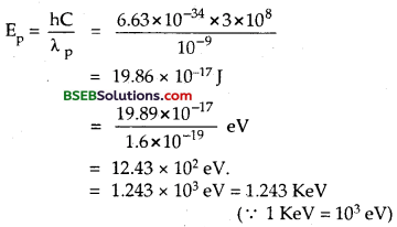 Bihar Board Class 12th Physics Solutions Chapter 11 Dual Nature of Radiation and Matter - 18