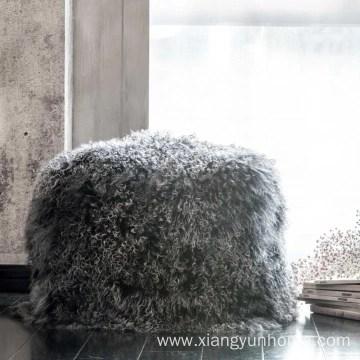 household real rabbit fur pillow case