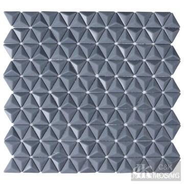 china grey glass mosaic tile outdoor