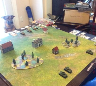 First battle set up